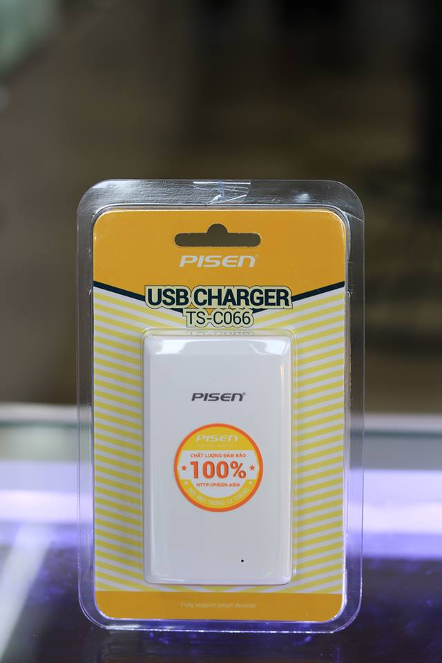 Sạc Pisen USB Charger (T Charger)